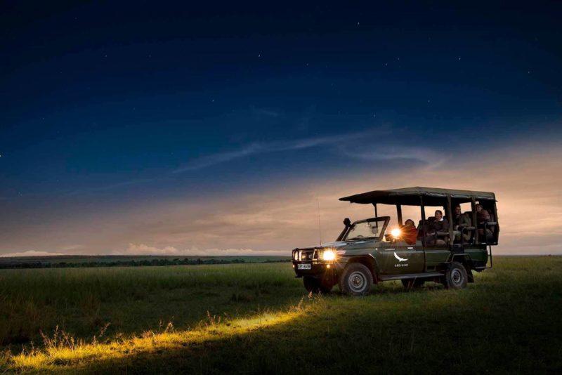 AndBeyond - Camp Night Drive - Bateleur