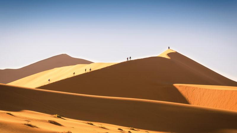 AndBeyond - Dune Walk - Sossusvlei