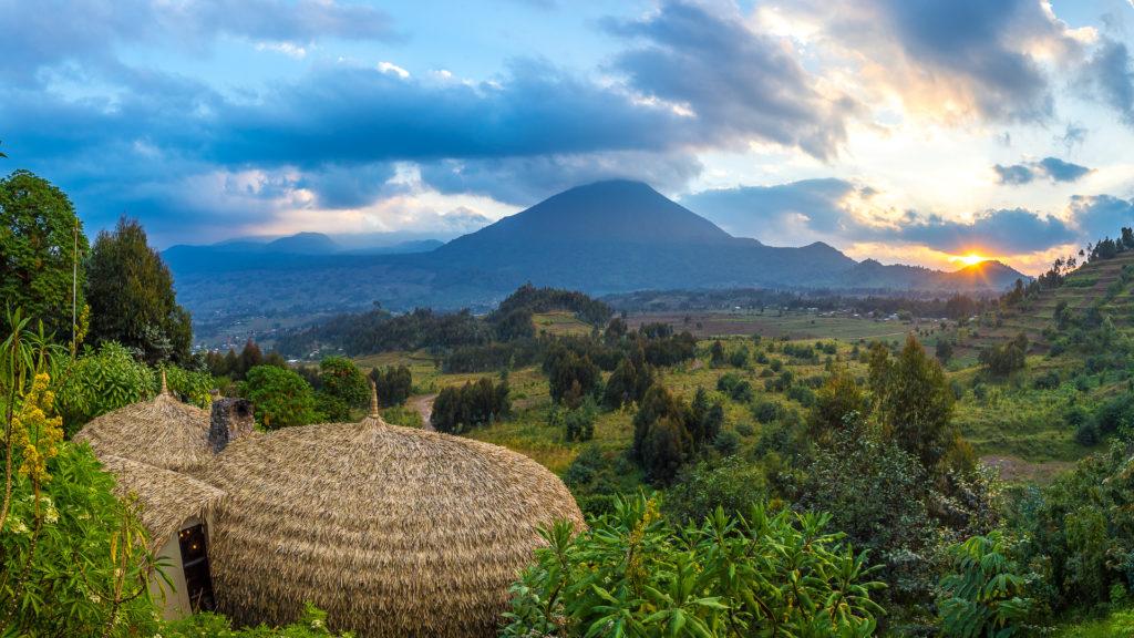 Rwanda - Volcanoes National Park - 1568 - Bisate Lodge