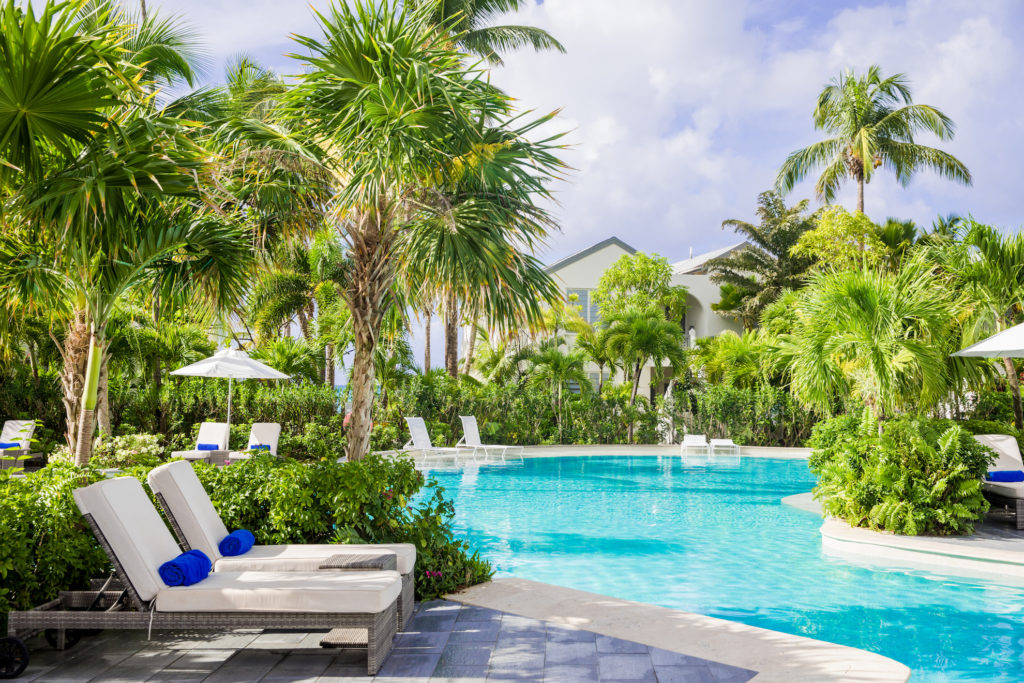 Antigua - St Mary's - Carlisle Bay Resort pool