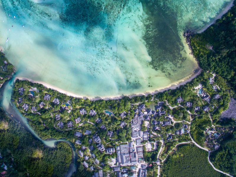 Seychelles - Mahe island - 1554 - Constance Ephelia Resort aerial