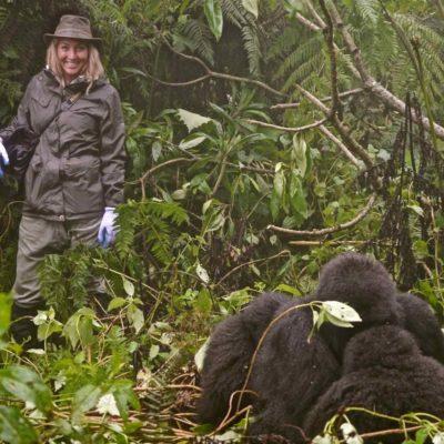 Gorilla Trekking Safari in Sabyinyo