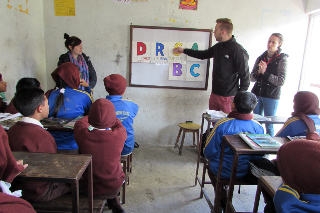 Community Education Project in Nepal