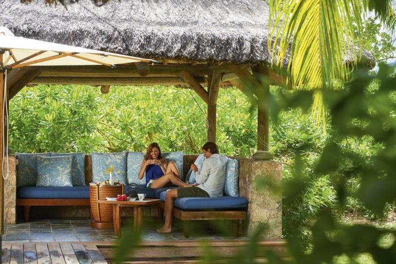 Seychelles - Praslin Island - 1554 - Constance Lemuria Resort seating area
