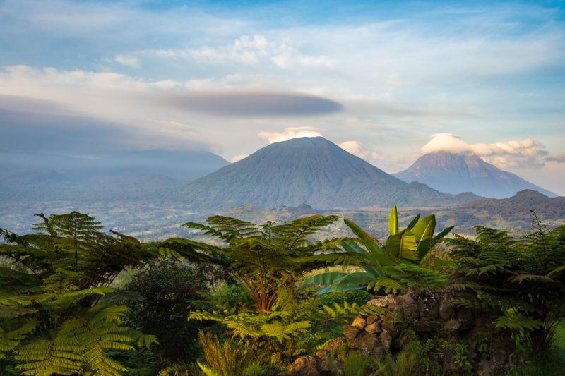 Rwanda - Volcanoes National Park - 1568 - Sabyinyo Silverback Lodge mountain