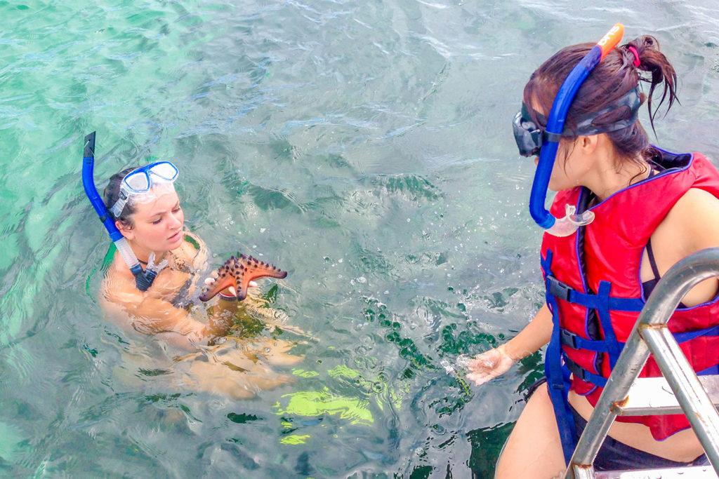 Snorkelling in Bali, Indonesia