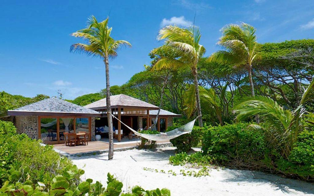 Caribbean - The Grenadines, Petit St Vincent - Petit St Vincent Private Island Resort beach