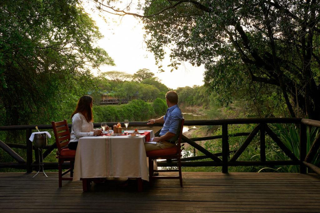 Fairmont Mara Safari Club - Dinner
