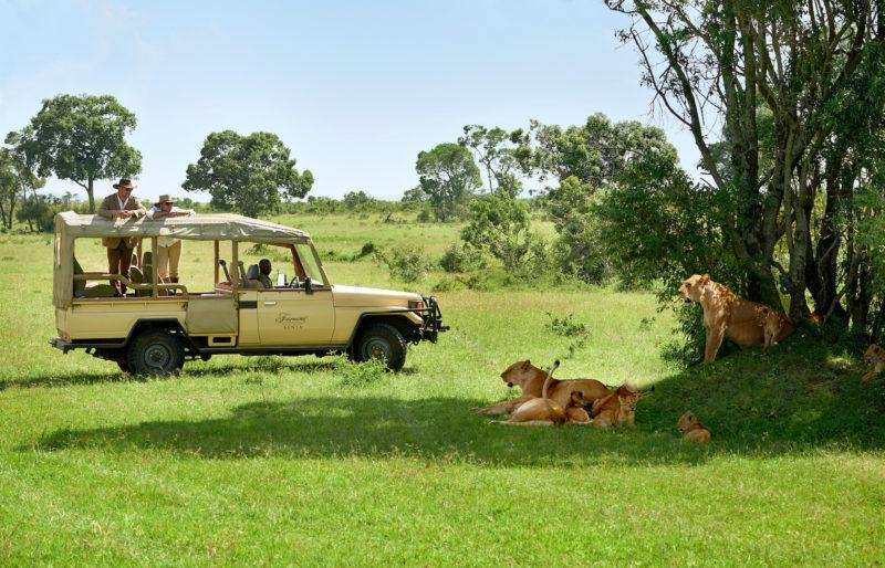 Fairmont Mara Safari Club - Game Drive