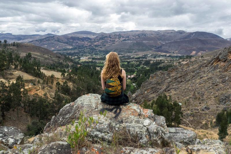 Llacanora View in Peru