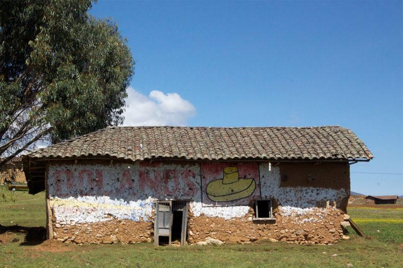 Mud House in Peru