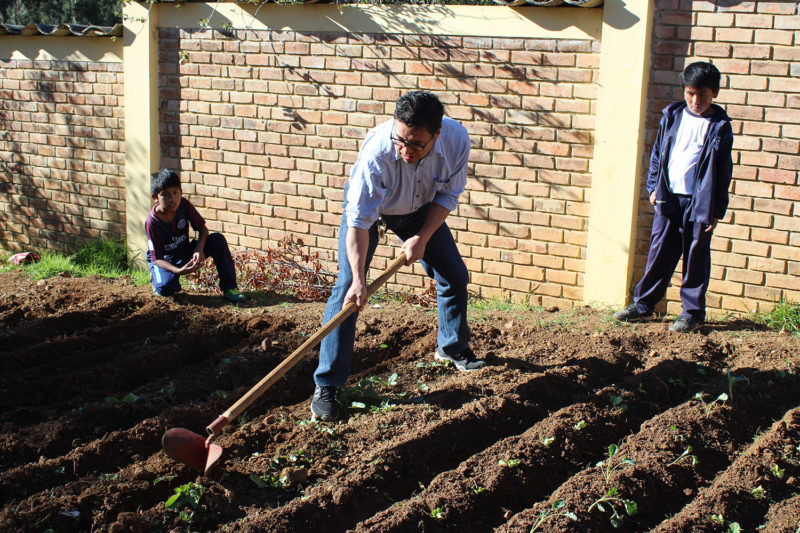 Agricultural Project at Peru School