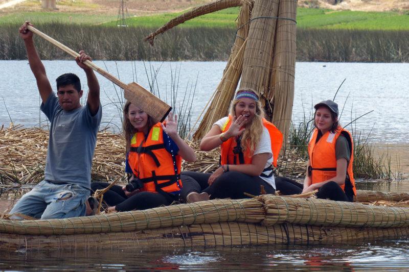 San Nicolas Lagoon Canoeing Peru