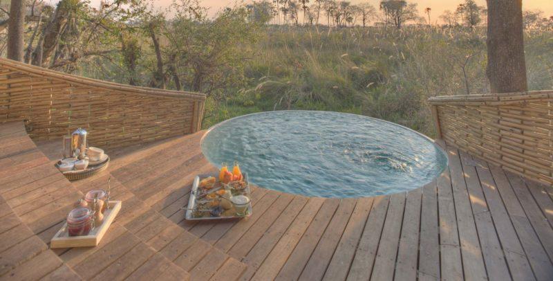 andBeyond Sandibe Okavango Safari Lodge - Private Pool
