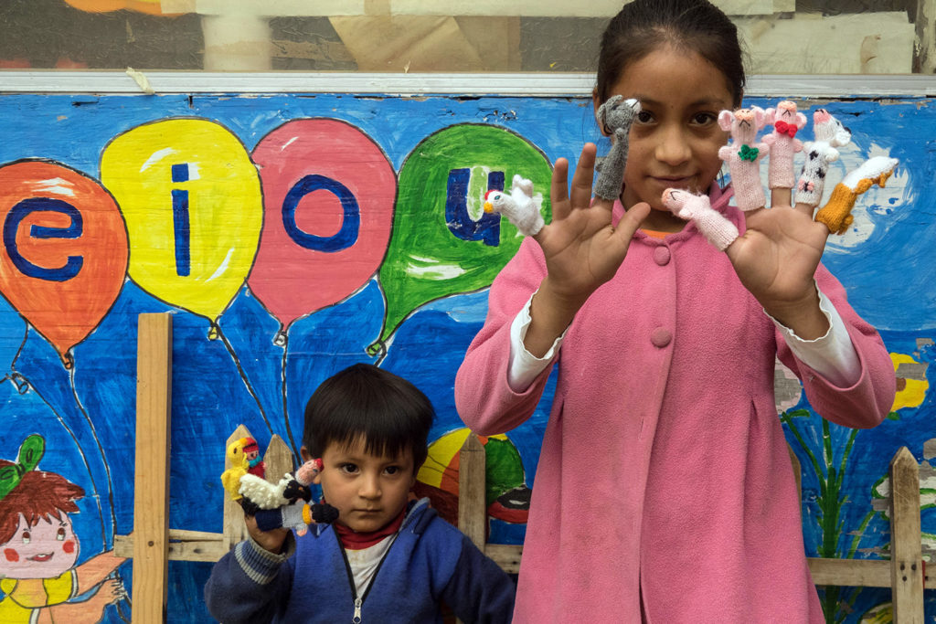 Finger Puppets for Kids in Peru