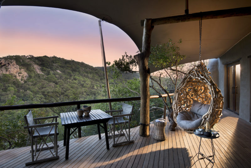 andBeyond Phinda Private Game Reserve - Rock Lodge - Guest Area