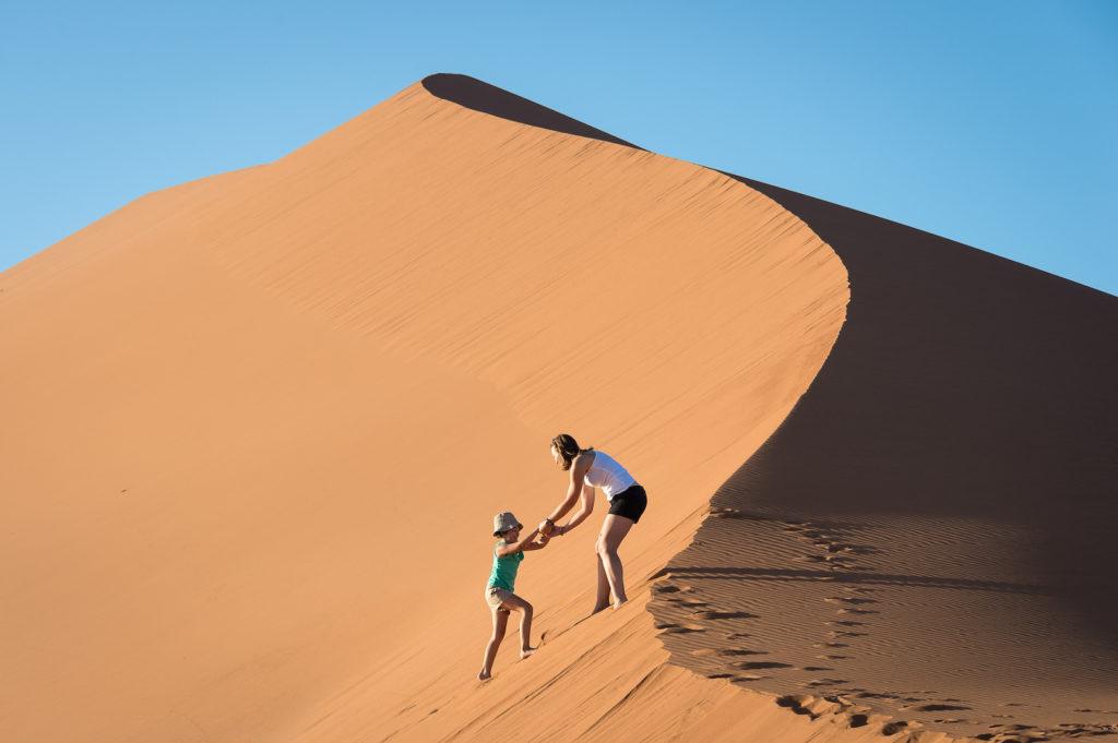 Namibia - Dune Climbing