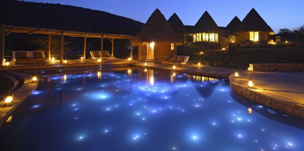 Mara Bushtops - Pool At Night