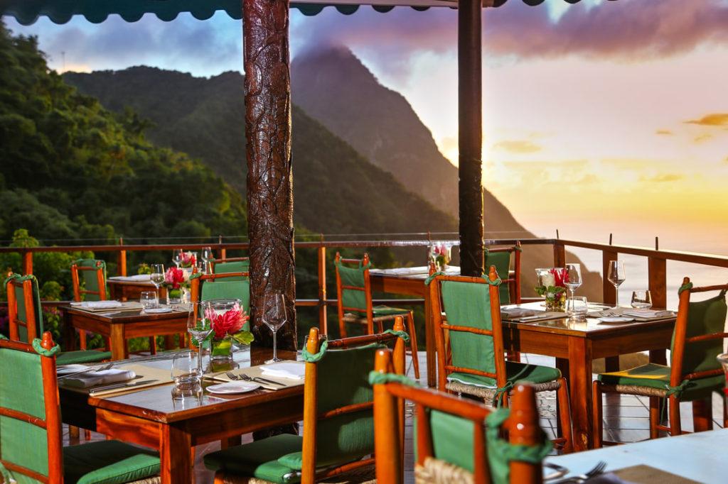 Caribbean - St Lucia, Malgretoute - Ladera Resort