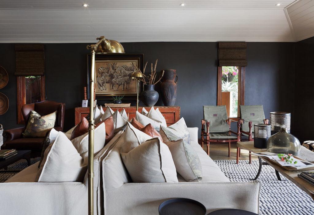 Malamala Camp - Living Room