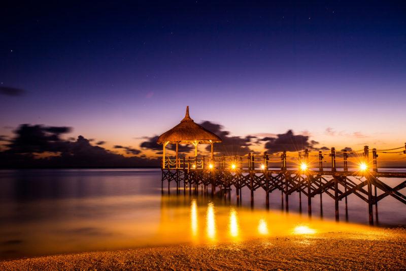 Mauritius - South Coast - 3996 - Shanti Maurice Resort & Spa pier