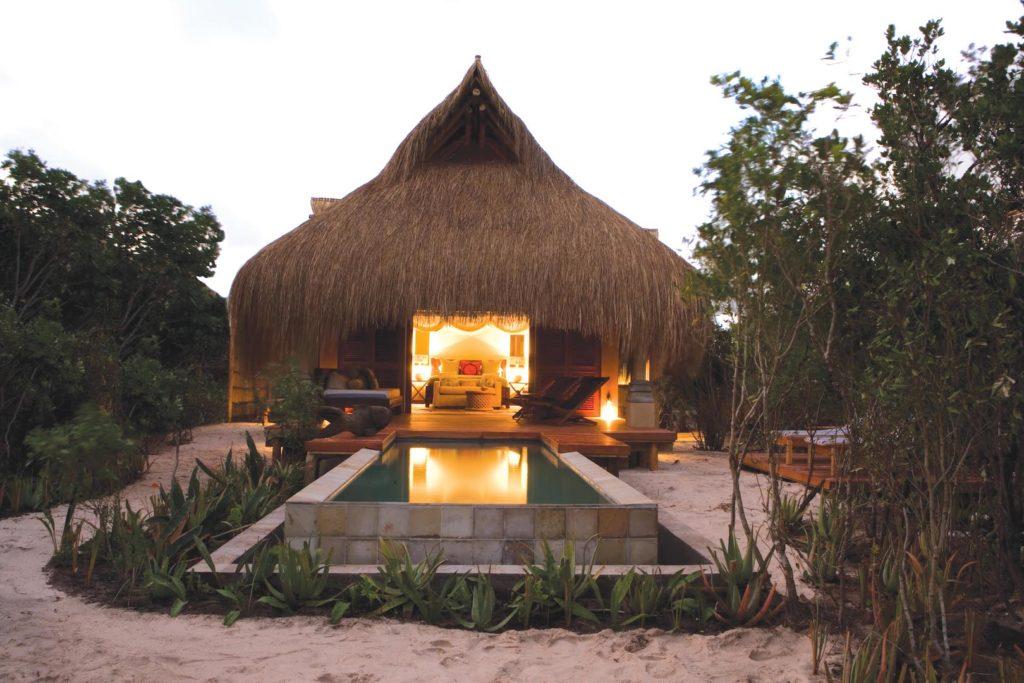 Azura Benguerra Island - Villa At Dusk