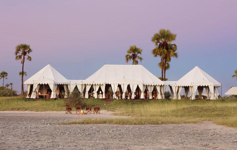 San Camp - Main Camp At Sundown