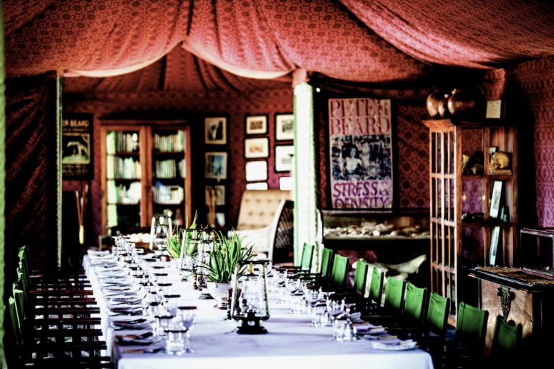 Jack's Camp - Dining Tent
