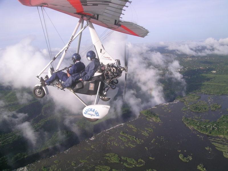 Toka Leya Camp - Flying