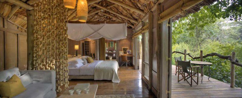 andBeyond Lake Manyara Tree Lodge - Bedroom
