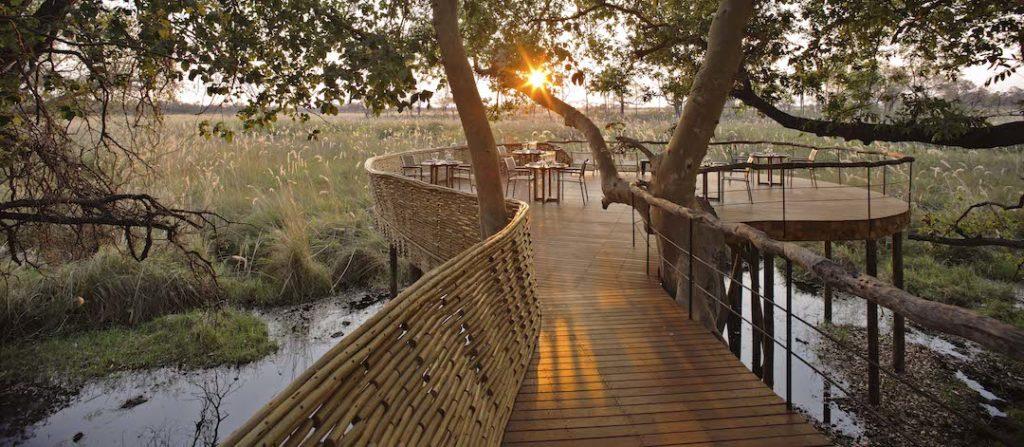 andBeyond Sandibe Okavango Safari Lodge - Guest Area