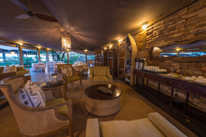 Toka Leya Camp - Living Area