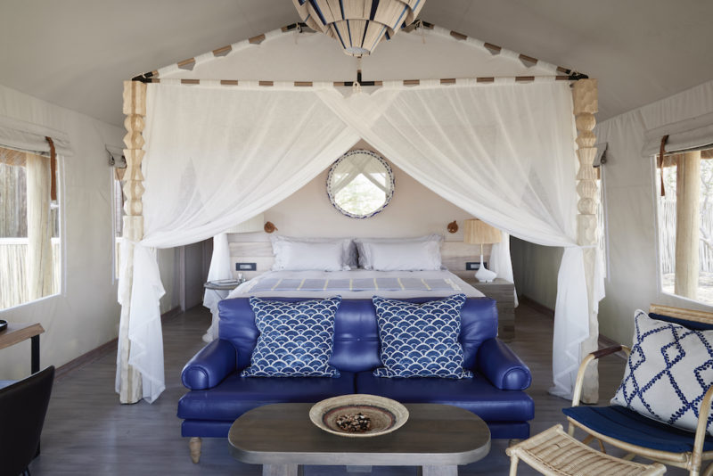 Belmond Savute Elephant Lodge - Bedroom