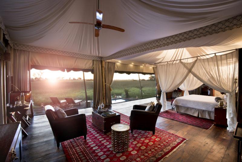 Duba Plains Camp - Guest Suite