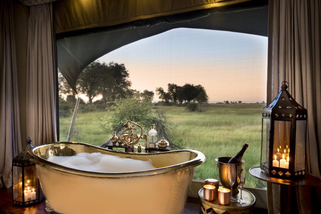 Duba Plains Camp - Guest Bathroom