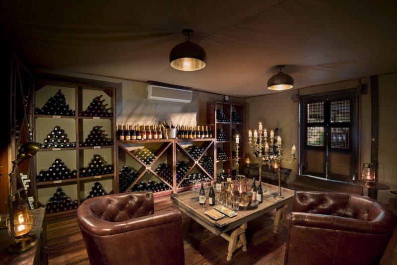 Duba Plains Camp - Wine Cellar