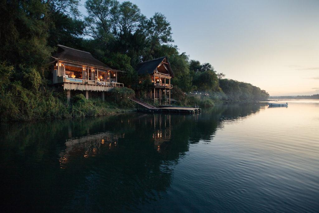 Tongabezi Lodge - Hangout and Lookout