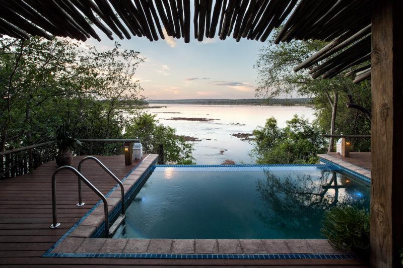 Tongabezi Lodge - Infinity Pool
