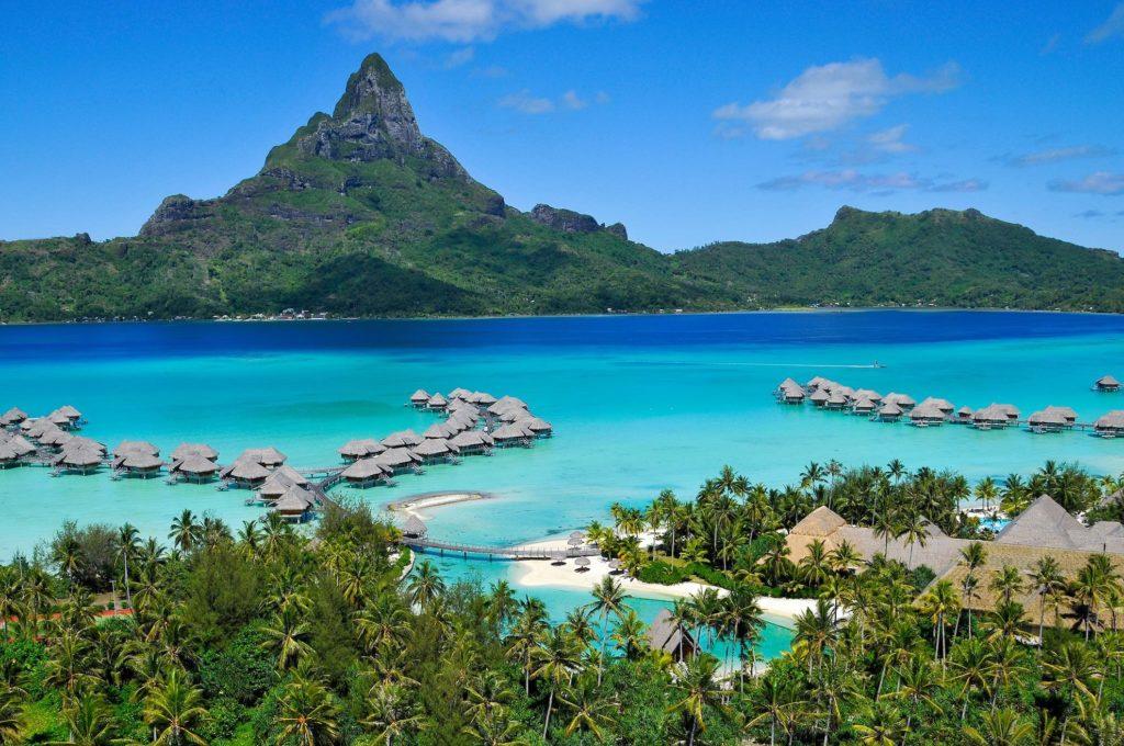 French Polynesia - Bora Bora - 1572 - InterContinental Bora Bora Resort & Thalasso Spa aerial