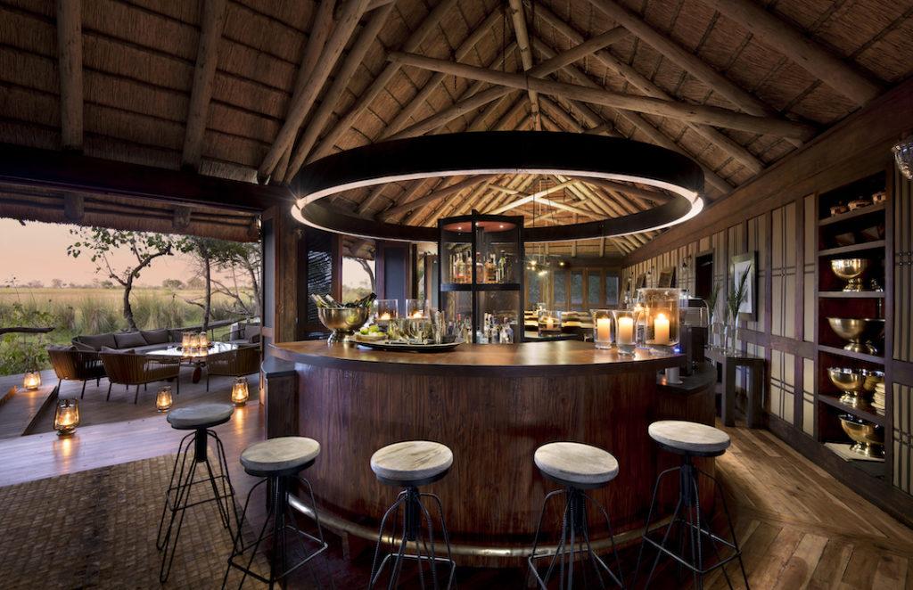andBeyond Nxabega Okavango Tented Camp - Bar