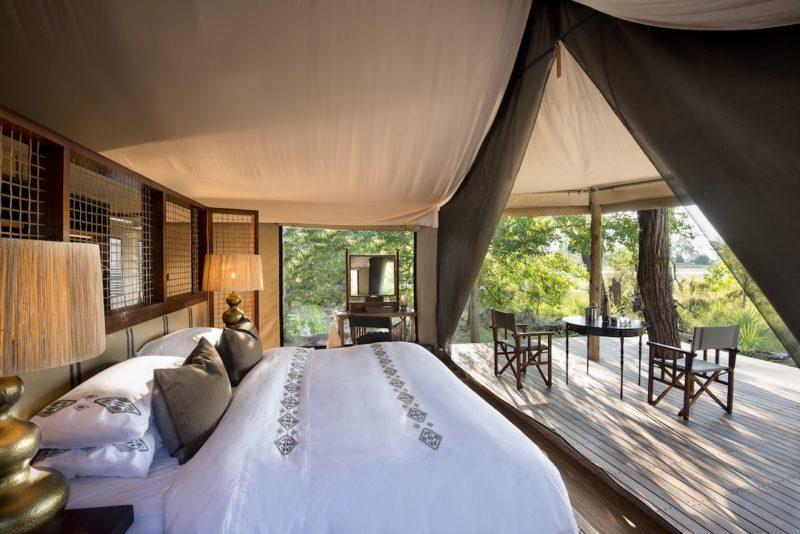 andBeyond Nxabega Okavango Tented Camp - Bedroom