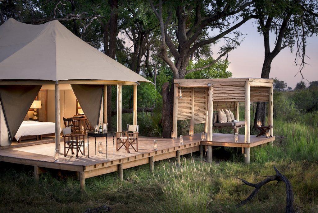 andBeyond Nxabega Okavango Tented Camp - Exterior View