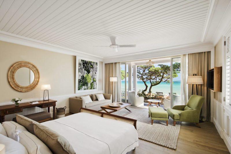 Heritage Telfair Resort & Spa - Beachfront Suite Bedroom