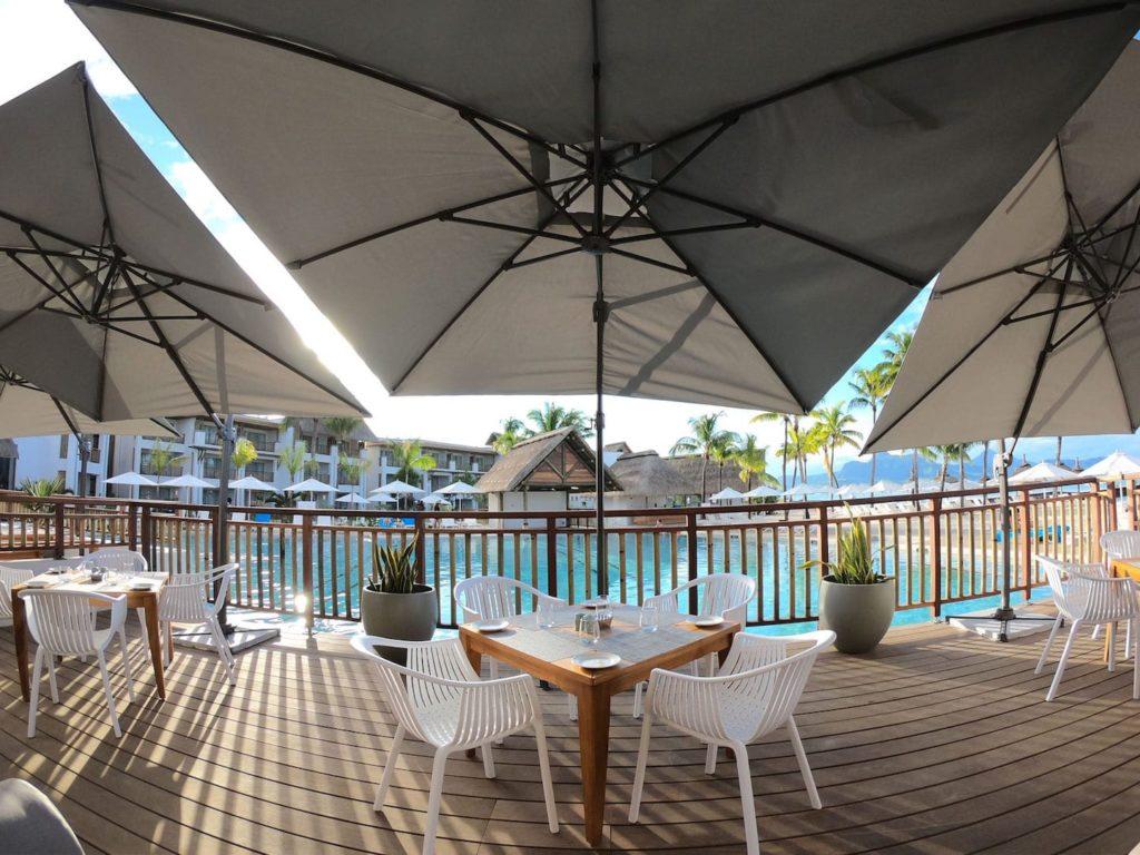 Preskil Resort & Spa - Pool Dining Area